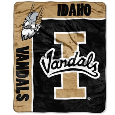University of Idaho Raschel Throw Blanket