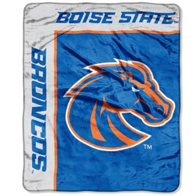 Boise State University Raschel Throw Blanket