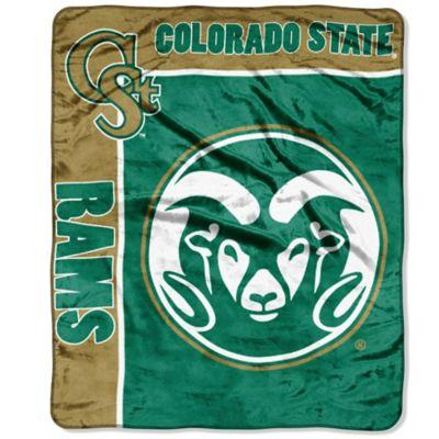 Colorado State University Raschel Throw Blanket