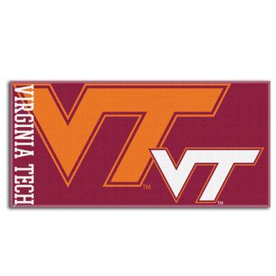Virginia Tech Official Beach Towel