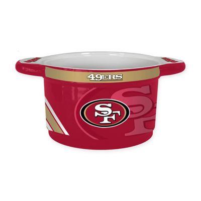 NFL San Francisco 49ers Sculpted Ceramic Gametime Bowl