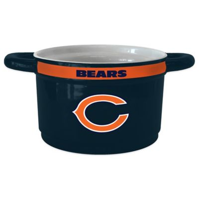 NFL Chicago Bears Sculpted Ceramic Gametime Bowl