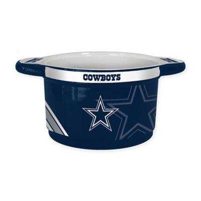NFL Dallas Cowboys Sculpted Ceramic Gametime Bowl