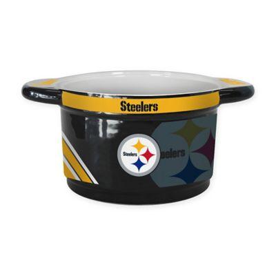 NFL Pittsburgh Steelers Sculpted Ceramic Gametime Bowl