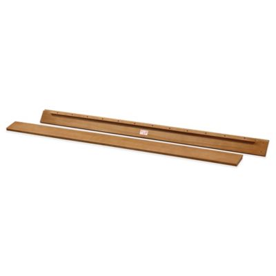 DaVinci Full Size Bed Rails in Chestnut