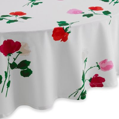 kate spade new york 70-Inch Round Willow Court Tablecloth