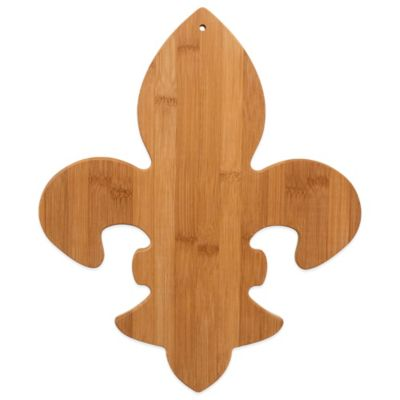Totally Bamboo Fleur de Lis Cutting/Serving Board
