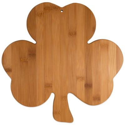 Totally Bamboo Shamrock Cutting/Serving Board