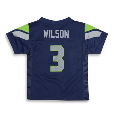 NFL Seattle Seahawks Size 4T Russell Wilson Jersey in Navy Blue