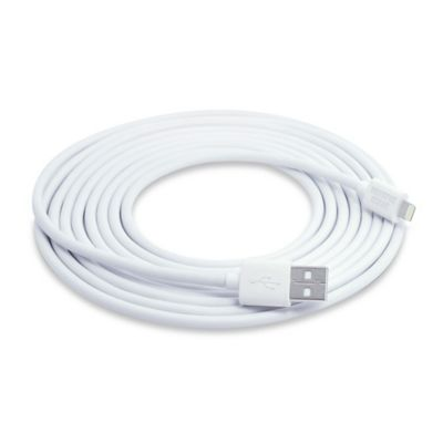 Sharper Image® 10-Foot Lightning Pin Charge & Sync Cable