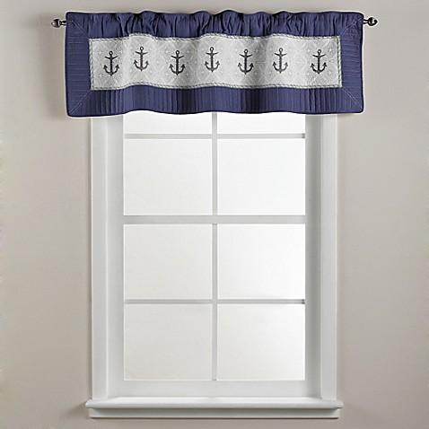 Donna Sharp Sailboat Window Valance Bedbathandbeyond Com