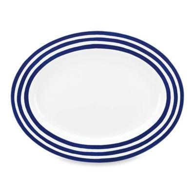 kate spade new york Charlotte Street 16-Inch Oval Platter