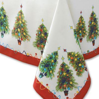 Square Christmas Table Cloths