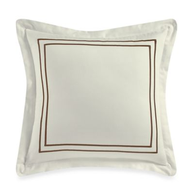 Wamsutta® Baratta Stitch 18-Inch Square Toss Pillow in Ivory