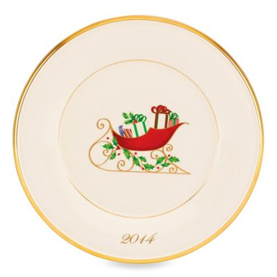 Lenox® Holiday™ 2014 Annual Sleigh Accent Plate