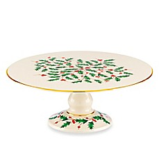 Lenox® Holiday™ Footed Cake Plate