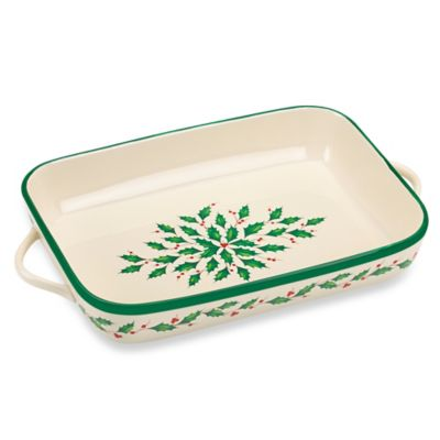 Lenox® Holiday™ Rectangular Baker
