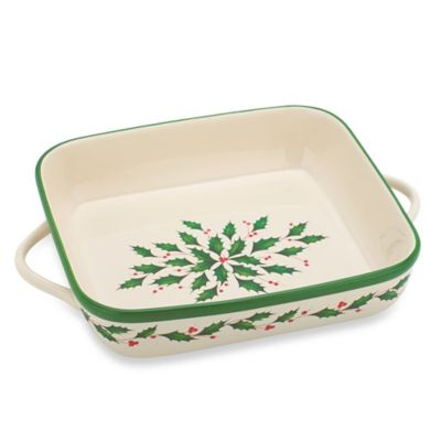 Lenox® Holiday™ Square Baker
