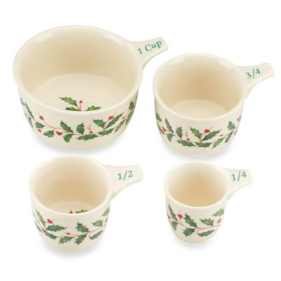 Lenox® Holiday™ 4-Piece Measuring Cup Set