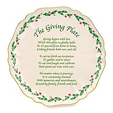 Lenox® Holiday™ The Giving Plate