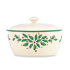 Lenox® Holiday™ 2-Piece 3.5-Inch Covered Casserole Dish (Set of 2)
