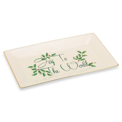 "Lenox® Holiday™ ""Joy to the World"" Tray"