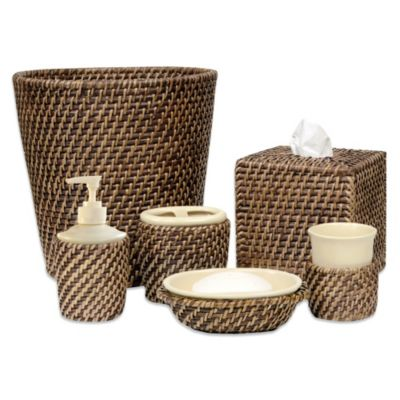Avalon Wicker Soap Dish