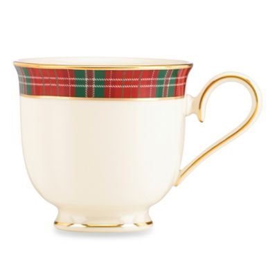 Lenox® Winter Greetings® Plaid Teacup