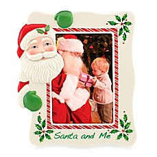 Lenox® Holiday™ Santa and Me 5-Inch x 7-Inch Frame