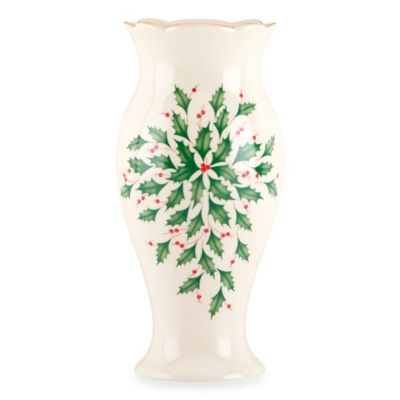 Lenox® Holiday™ 8.5-Inch Vase