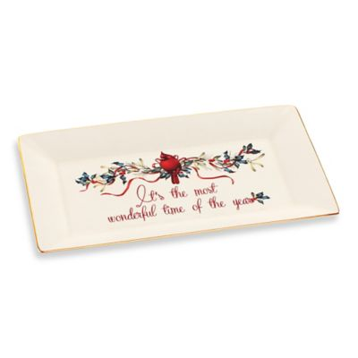Lenox® Winter Greetings® It's the Most Wonderful Time of the Year Platter