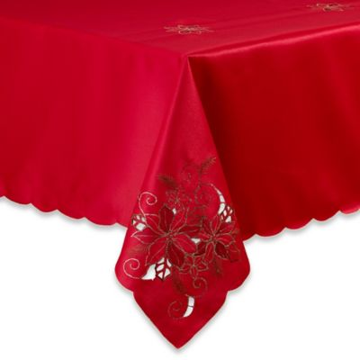 Buy Holiday Tablecloths Round From Bed Bath Amp Beyond
