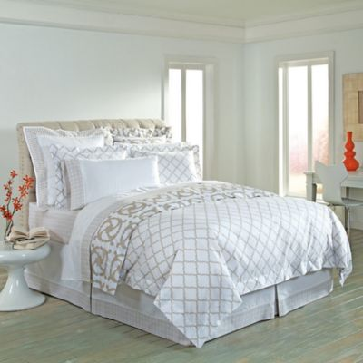 COCOCOZY™ Katie/Kip Reversible Queen Duvet Cover in Taupe