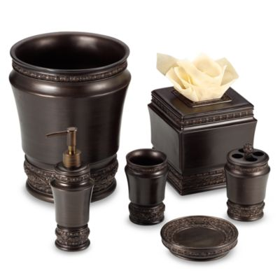 Palazzo Oil Rubbed Bronze Wastebasket