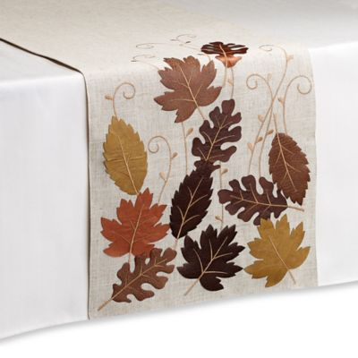Sam Hedaya Walnut Creek 72-Inch Table Runner
