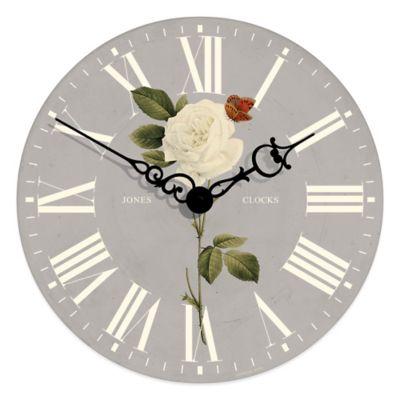Gray Decorative Wall Clocks