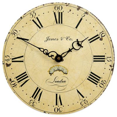 Jones® Clocks Columbus Wall Clock