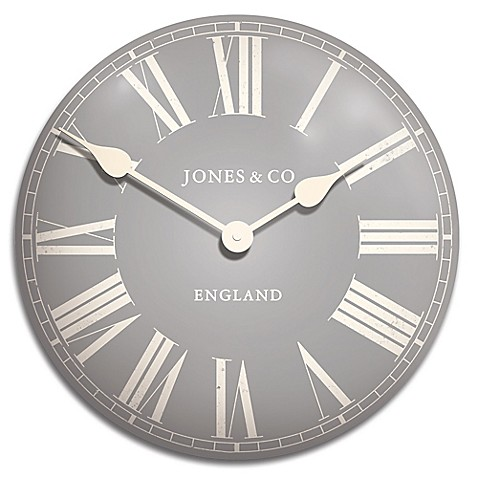 Buy Jones 174 Clocks Stroud Convex Tin Wall Clock From Bed
