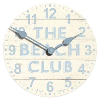 Jones® Clocks Beach Club Wall Clock