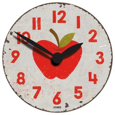 Jones® Clocks Fruity Apple Wall Clock