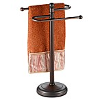 Curved Oil Rubbed Bronze Towel Tree