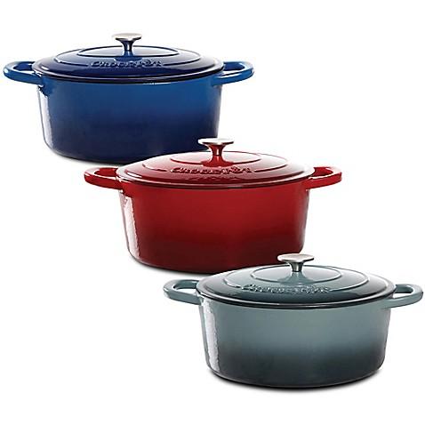 Crock Pot 174 7 Quart Oval Cast Iron Dutch Oven