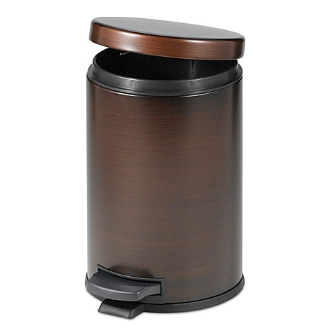 Buy bathroom trash cans from bed bath beyond for Bathroom garbage can