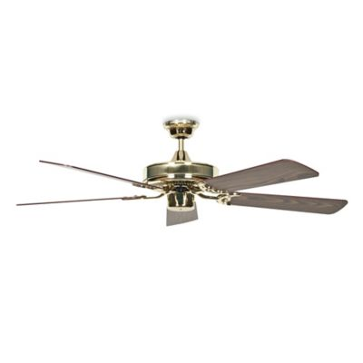Concord Fans California Home 52-Inch Ceiling Fan in Polished Brass