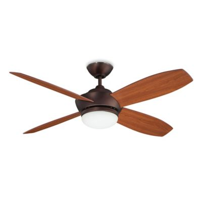 Concord Fans Garvin 52-Inch Single-Light Indoor Ceiling Fan in Oil Brushed Bronze