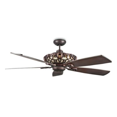 Concord Fans Aracruz 60-Inch Indoor Ceiling Fan in Oil Rubbed Bronze