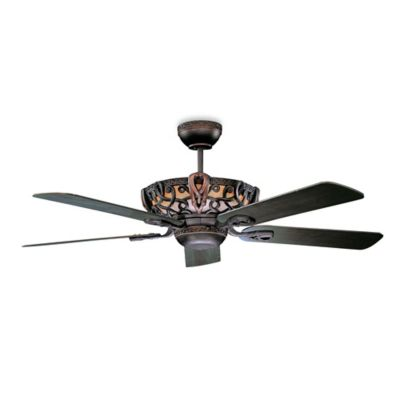 Concord Fans Linden Aracruz 52-Inch Indoor Ceiling Fan in Oil Rubbed Bronze
