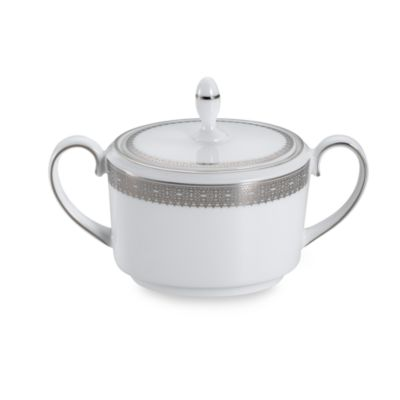 Vera Wang Wedgwood® Vera Lace Covered Sugar Bowl