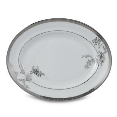 Vera Wang Wedgwood® Vera Lace 13 3/4-Inch Oval Platter