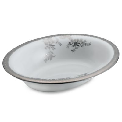 Vera Wang Wedgwood® Vera Lace 9 3/4-Inch Oval Open Vegetable Bowl